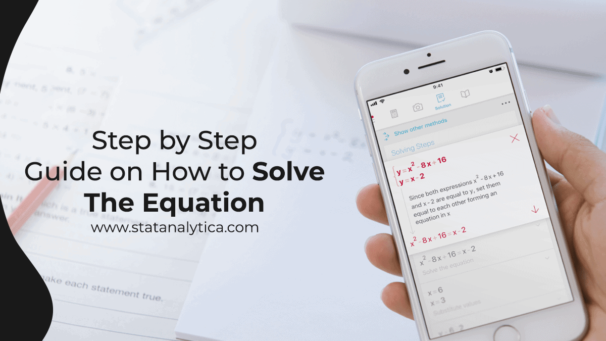 how to solve the equation