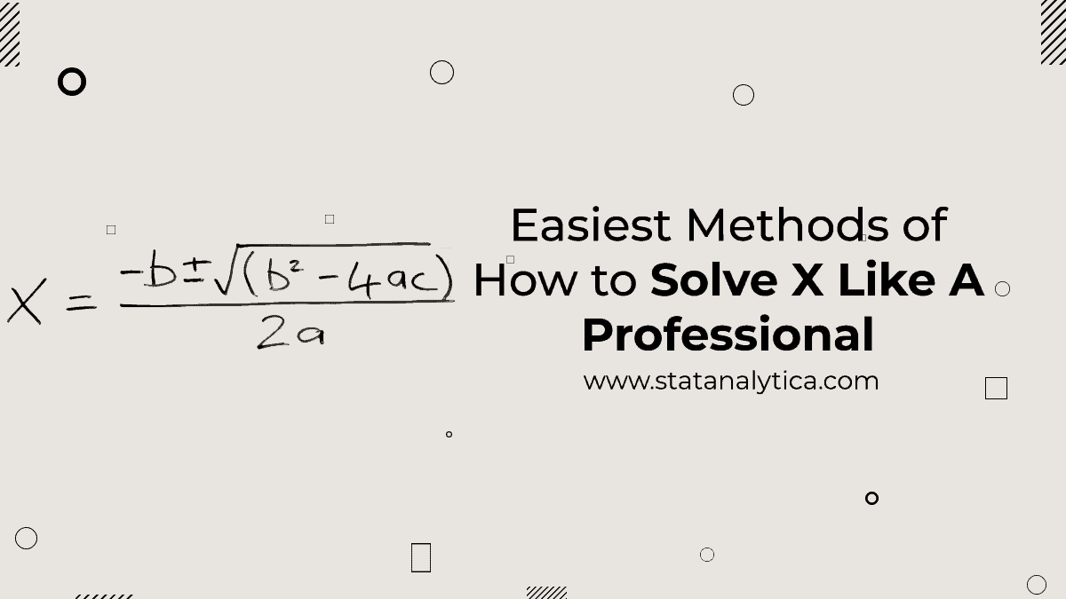 how to solve x
