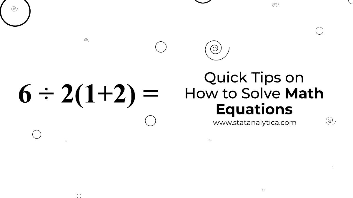 how to solve math equations