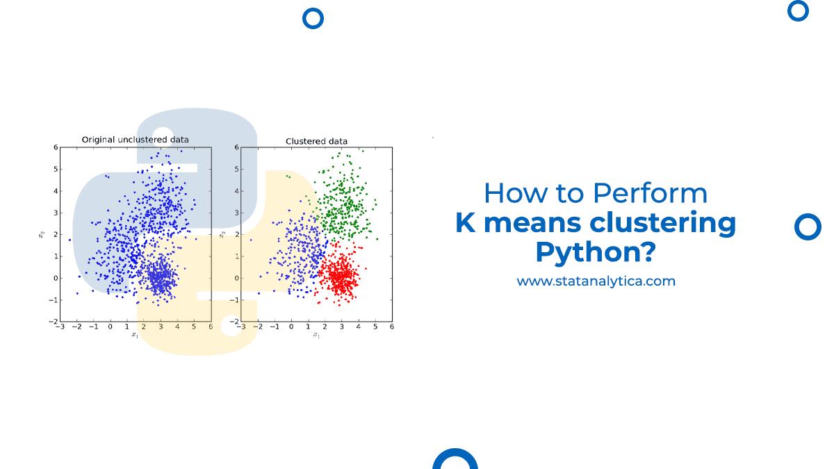 K means clustering Python