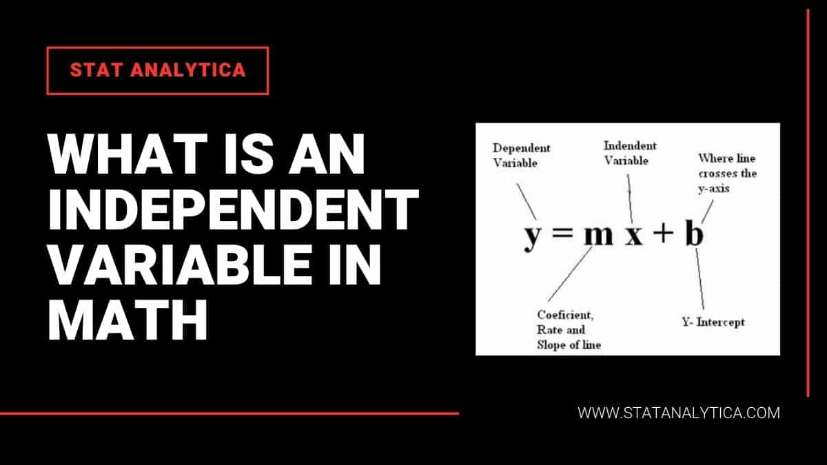What-is-an-independent-variable-in-math