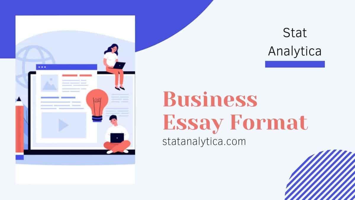 business-essay-format