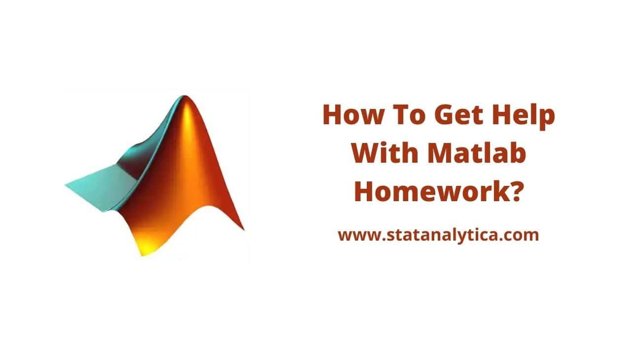 Help With Matlab Homework