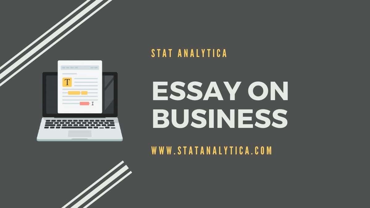 essay-on-business