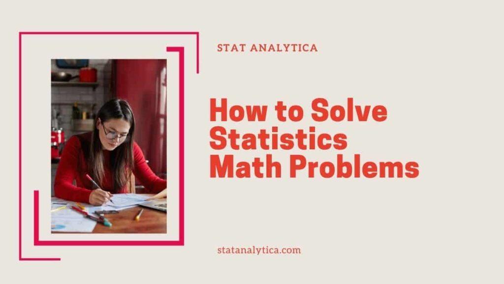 statistics-math-problems