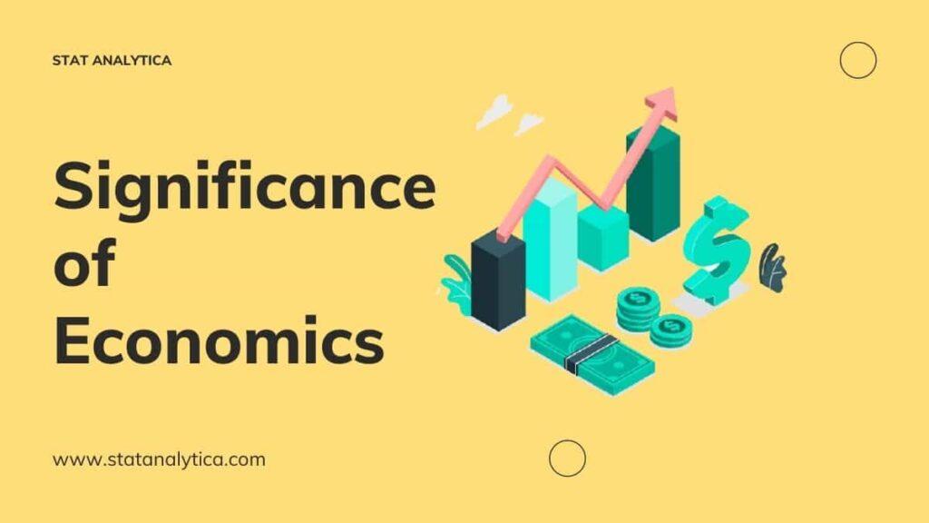 significance-of-economics